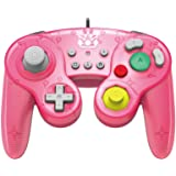 HORI Nintendo Switch Battle Pad (Peach) GameCube Style Controller Officially Licensed By Nintendo - Nintendo Switch (Color: Princess Peach)