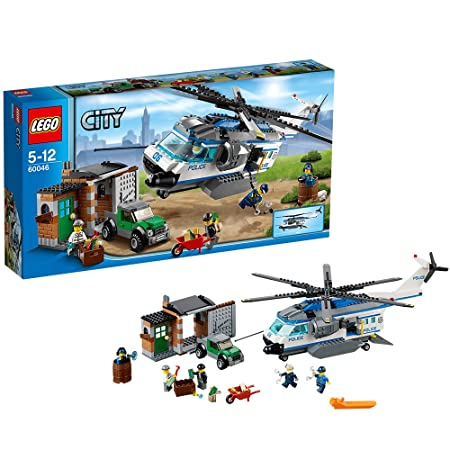 Lego City - 60046 - Jeu De Construction - L'intervention De L'hélicoptère En Forêt