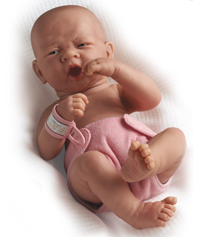 Zu realistic baby doll life like newborn reborn dolls first yawn girl