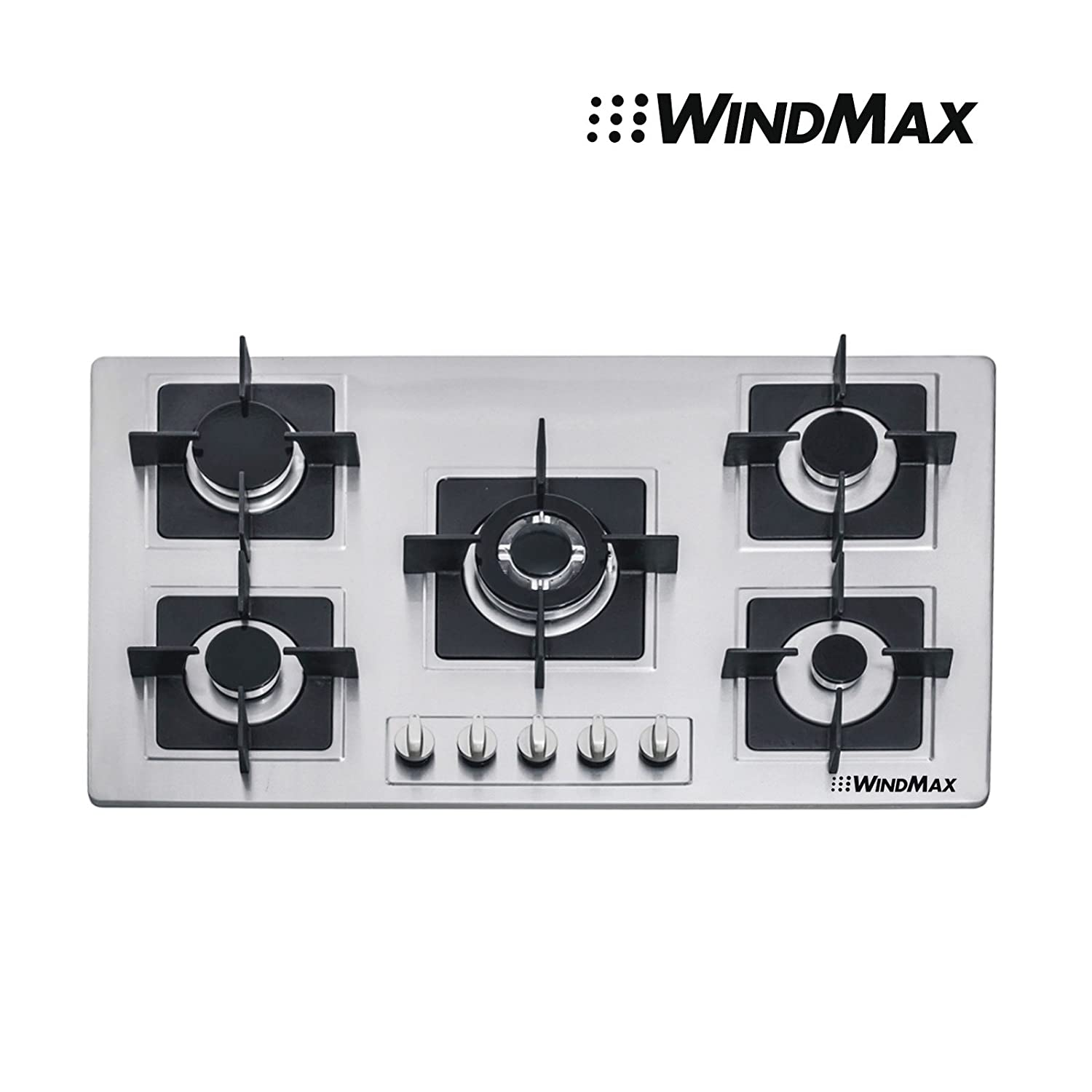 Brand New 35.5 inch Stainless Steel Built-in Kitchen 5 Burner Stove Gas Hob Cooktop Cooker