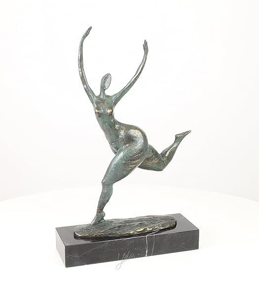 Scultura in bronzo signora nuda nude