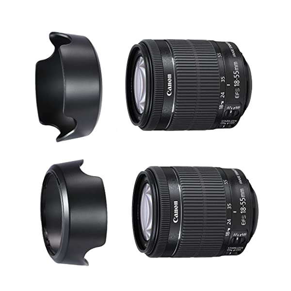 28-80mm Lens EW-60C Professional Replacement Lens Hood For Canon 18-55mm