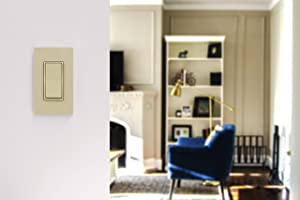 GE Ivory Enbrighten Add QuickFit and SimpleWire, in-Wall Paddle, Z-Wave ZigBee Wireless Smart Lighting Controls, NOT A STANDALONE Switch, 47188 (Color: Ivory)