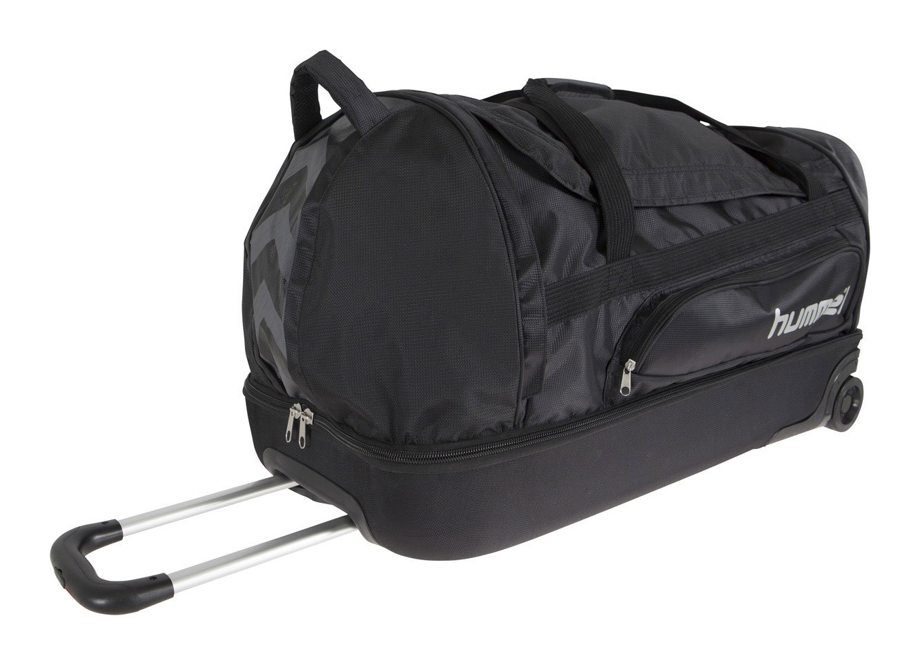 Hummel BIG TROLLEY BAG BLACK/SILVER