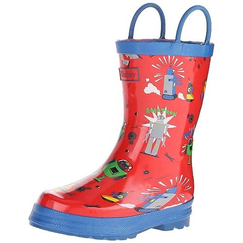 Hatley Kids Rainboots -Robots