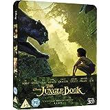 THE JUNGLE BOOK (2016) (3D/2D Blu-ray Steelbook
