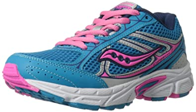 Kids' New Style Saucony Cohesion 7 Lace Athletic Shoe Clearance Multicolor Collections