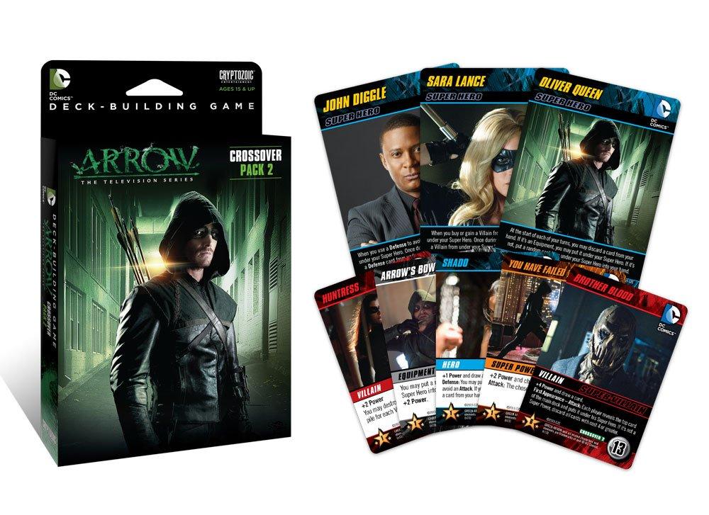 Amazon.com: DC Comics Deck Building Cross Pack: Cards: Toys & Games