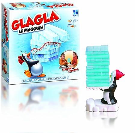 Megableu - 678073 - Jeu d'action et de Réflexe - Glagla le Pingouin