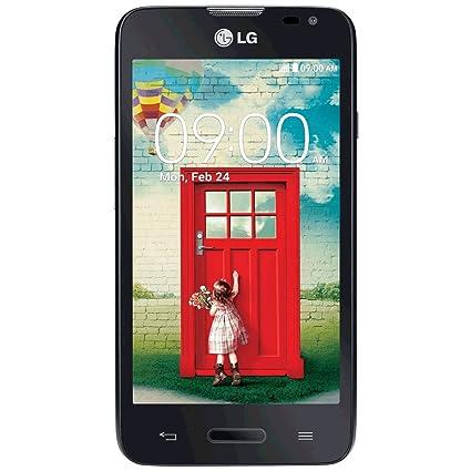 LG Smartphone débloqué 3G+ (Ecran : 4,3 pouces 4 Go Simple SIM Android) Noir