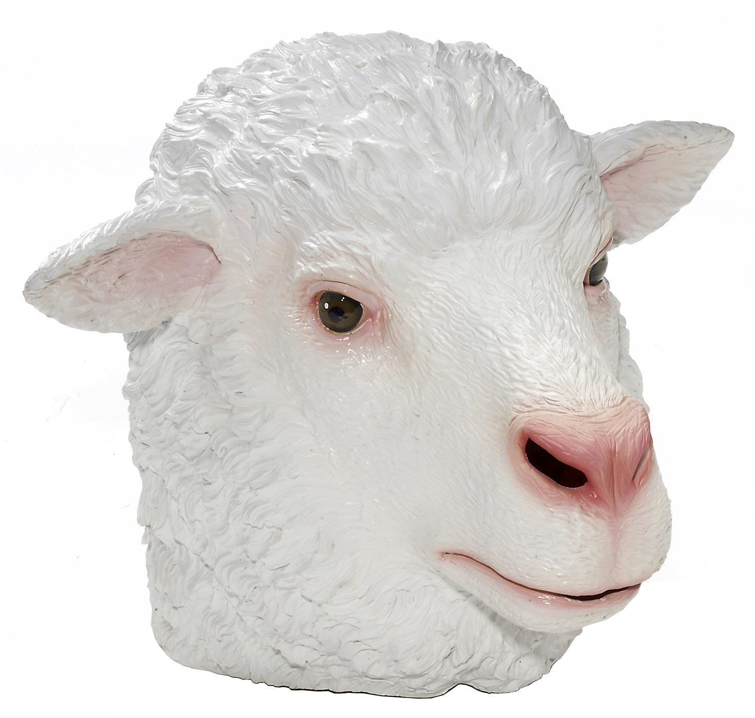 Men's Adult Latex Sheep Mask
