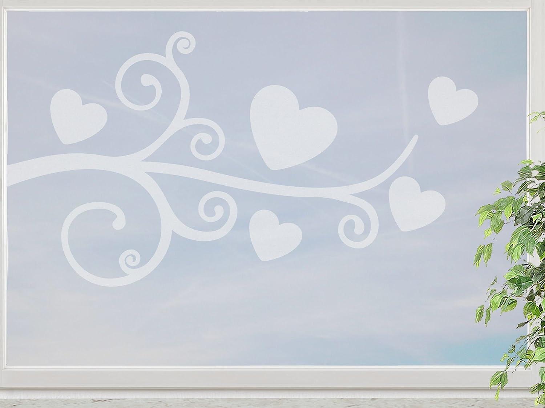 wandfabrik – Fenstersticker 1 Ranke mit Herzen -60cm Motiv (HZ2R60) – frosty – 798 – (Xt) online kaufen