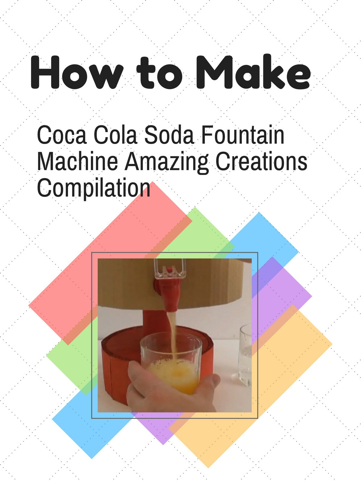 How to Make Coca Cola Soda Fountain Machine Amazing Creations Compilation