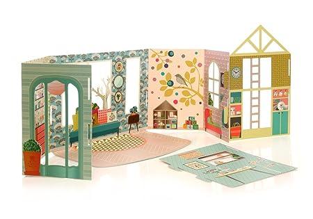 Maison de Poupée transformable Mini Labo Mon Petit Art LAMMIN1