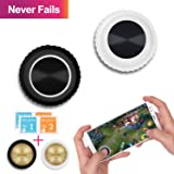 [2 Joysticks][2 Buttons] Mobile Game Joystick - GTOTd Mobile Game Controller,Touch Screen Joypad Game Controller for Mobile Tablet Smart Phone Joystick [New Version] (Color: Joystick)