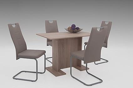 Kirsten EssgruppeEsstisch Tisch,Wohnzimmertisch,Esszimmer tisch,sonoma Eiche