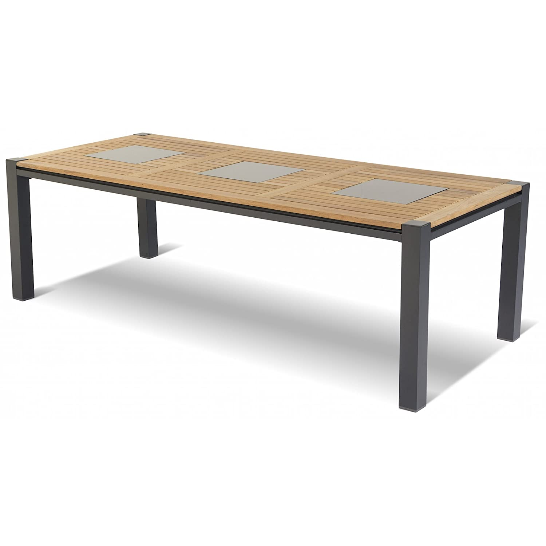Hartman Gartentisch Masterchef Teak Aluminium 240 x 100 cm 62445010 jetzt kaufen