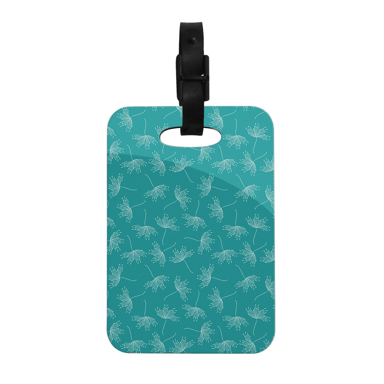 Kess InHouse Emma Frances Windswept Teal White Decorative Luggage Tag, 4 by 4-Inch online master kess v5 017 v2 23 ktag v7 020 v2 23 no tokens limit kess 5 017 k tag k tag 7 020 ecu programmer dhl free