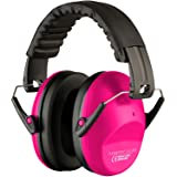 Ear defenders for women (Pink) (Color: Pink)