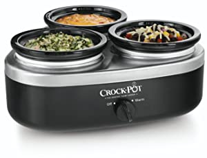 Crock-Pot Triple Mini Crockpot Dipper