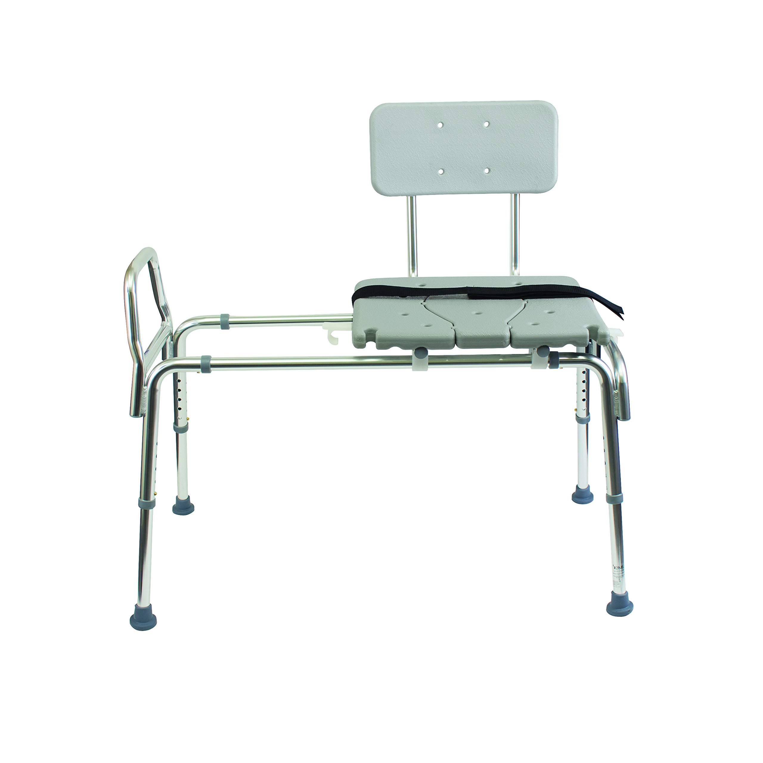 Duro Med Heavy Duty Sliding Transfer Bench Shower Chair With Cut Out Seat And Ebay