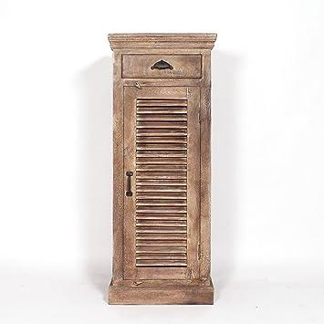 confiturier madera maciza Patine Blanchie | B10