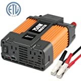 Ampeak 750W Power Inverter 12V to 110V AC Converter with 2.1A USB Dual AC Outlets Car Inverter (Tamaño: 750W)