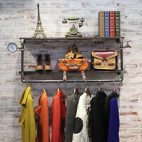 FGSGJ Negozio di abbigliamento Abbigliamento Vetrina Abbigliamento Puntelli Negozio di abbigliamento donna Appendiabiti da parete