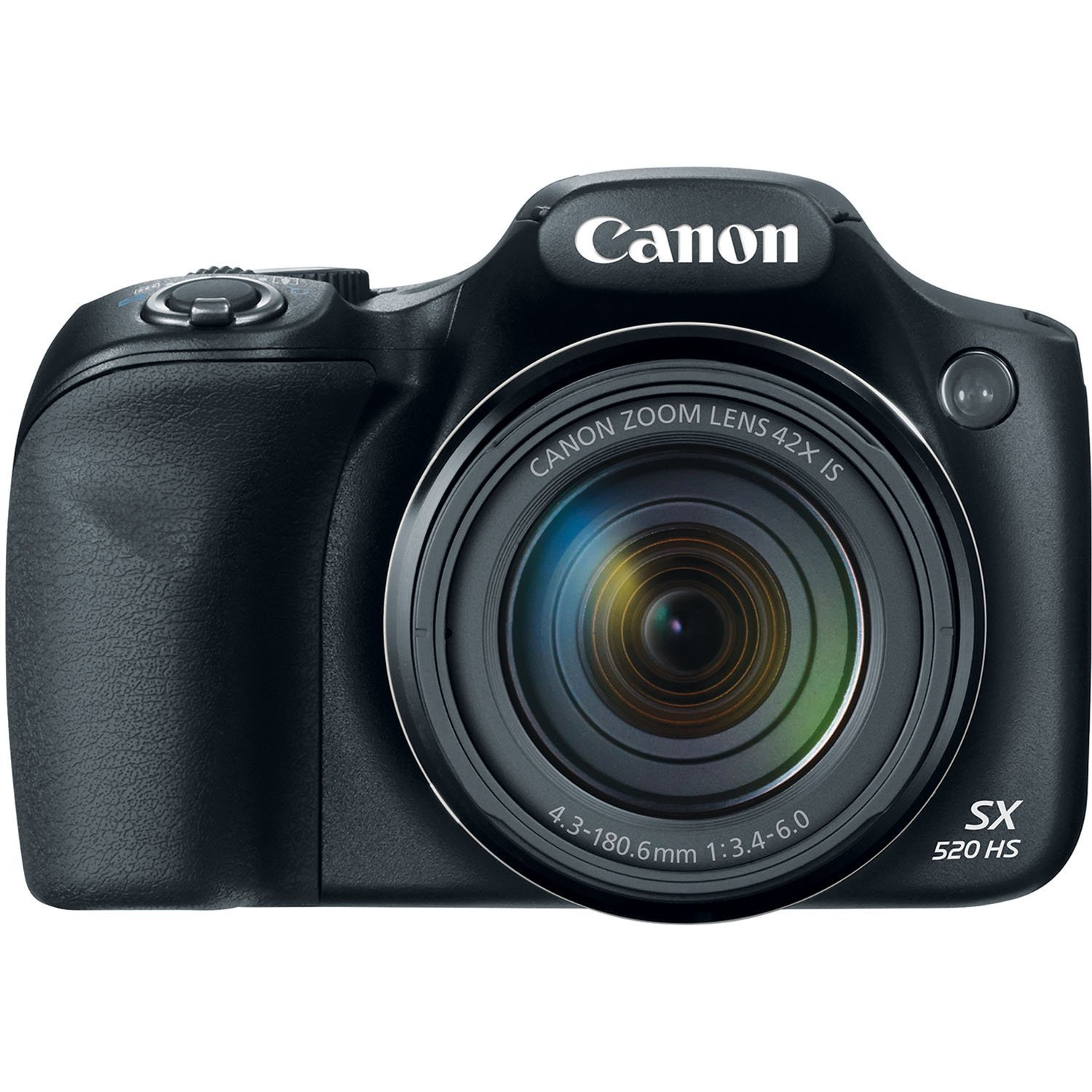 Canon PowerShot SX520 HS 16MP Digital Camera with 42x Optical Image Stabilized Zoom with 3-Inch LCD, Black (Certified Refurbished)