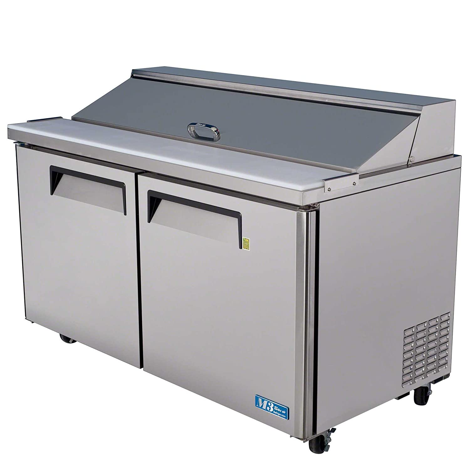 "Turbo Air (MST-60) - 60"" Sandwich & Salad Prep Table - M3 Series"