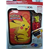 RDS Industries, Nintendo 3DS Game Traveler Essentials Pack - Blue with Pikachu (Discontinued by Manufacturer)
