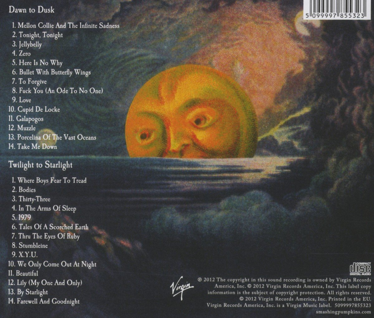 Mellon Collie And The Infinite Sadness Artwork Www