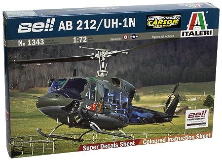 Italeri - I1343 - Maquette - Aviation - Ab212/uh-1n