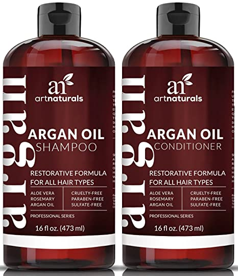 How to take care of your Dry Hair - Moroccan Argan Oil Shampoo and Conditioner Set