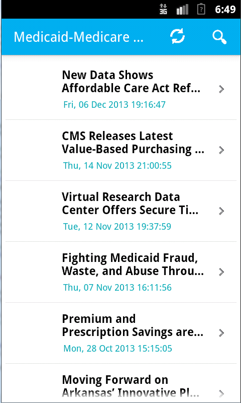 Medicaid Medicare News: Amazon.co.uk: Appstore For Android