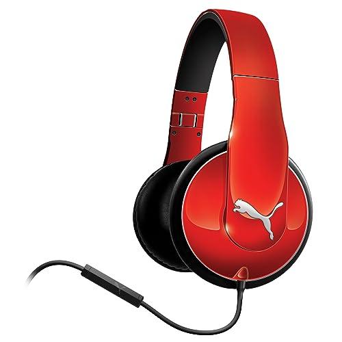 Wheat PUMA VORTICE OVER EAR REDの写真01。おしゃれなヘッドホンをおすすめ-HEADMAN(ヘッドマン)-