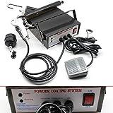 TFCFL Powder Coating System Metal workpiece Spray Machine DIY Electrostatic Spray Gun for Automotive Marine Home Garden