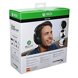 HyperX CloudX Stinger Core - Gaming Headset - Official Xbox Licensed Headset with Mic, Xbox One, PC, PUBG, Fortnite, Crackdown, (HX-HSCSCX-BK)
