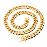 W&W Lifetime Mens 24k Gold Plated 20