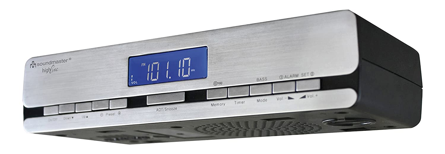 Best Under-Cabinet Kitchen CD Clock Radio Reviews 2016-2017 on ...