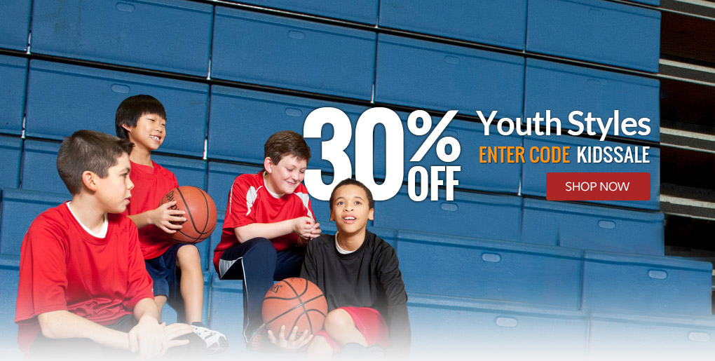 30% Off Select Youth Styles