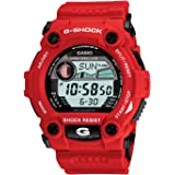 Casio Men's G7900A-4 G-Shock Rescue Red Digital Sport Watch (Color: Red, Tamaño: O/S N/A)
