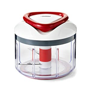 zyliss easy pull food chopper and manual food processor review
