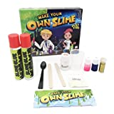 Haotfire Magical Slime Kit - The Ultimate DIY Slime Making Kit - Slime Supplies to Make Glow in the Dark, Clear, Glitter and Color Changing Slime - Slime Containers Included