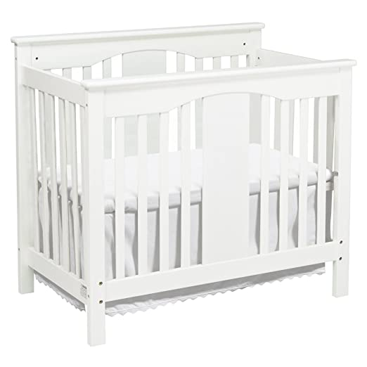Amazon.com : DaVinci Annabelle 2-in-1 Mini Crib and Twin Bed, White : Davinci Mini Crib Annebelle : Baby