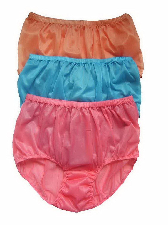 Höschen Unterwäsche Großhandel Los 3 pcs LPK2 Wholesale Panties Nylon online bestellen