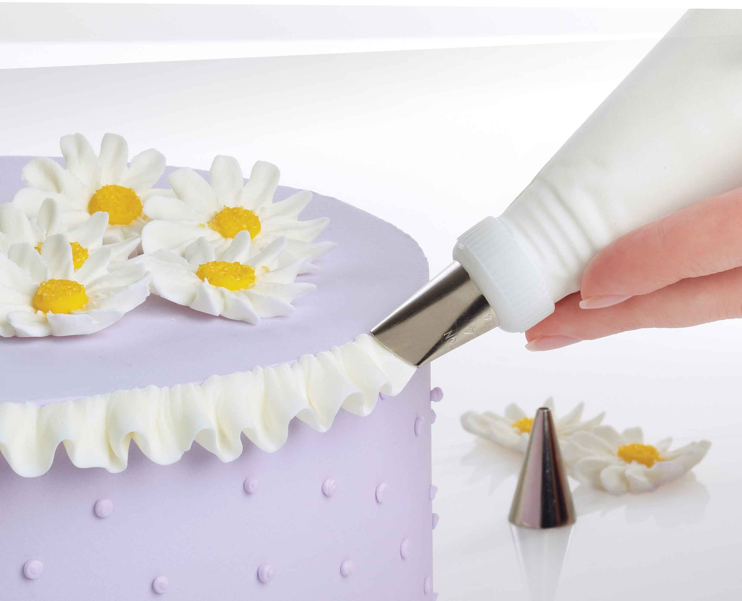 Cake Decorating Utensils : Wilton 2109-0309 Ultimate Professional Cake Decorating Set, Purple- Discontinued eBay