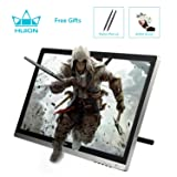 Huion GT-220 v2 Drawing Pen Display 21.5 Inch IPS Tablet Monitor with HD Screen for Mac and PC (Color: Silver)