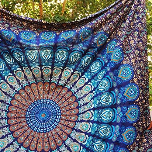 Handmade-Cotton-Mandala-Bedspread-Throw-Bohemian-Backdrop-Medallion-Yoga-Meditation-Picnic-Garden-Beach-Throw-Boho-Gypsy-Dorm-Decor-Living-Room-Hippie-Hippy-Wall-Hanging-Tapestry