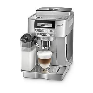 DeLonghi ECAM 22.360.S KaffeeVollautomat (1.8 l, 15 bar, 1450 Watt, integriertes Milchsystem )Kundenbewertung: